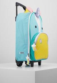 Skip Hop - ZOO UNICORN - Wheeled suitcase - blue - 4