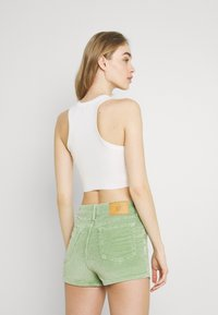 BDG Urban Outfitters - SUPER CROP RACER TANK - Top - off white - 2
