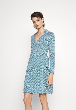 NEW JEANNE - Jersey dress - turquoise