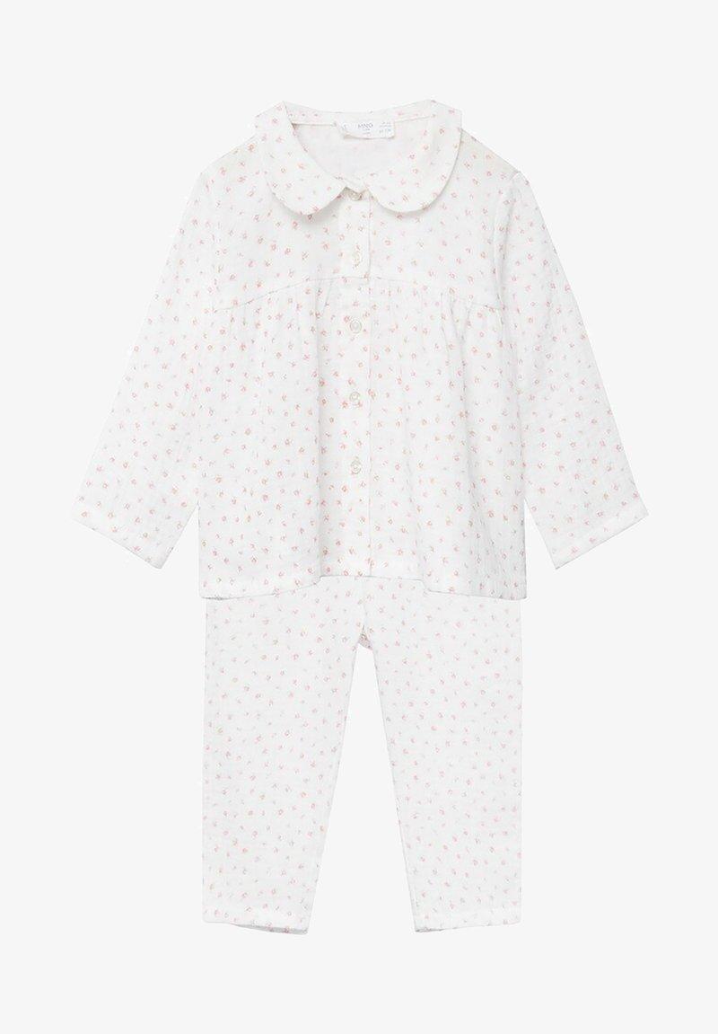 Mango - ROSE - Pyjama - blanc cassé