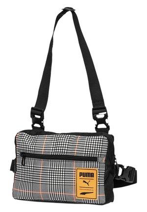 Across body bag - black-vibrant orange-ao