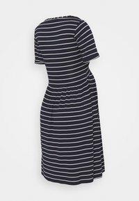 Envie de Fraise - LIMBO - Jersey dress - navy blue/off-white - 1