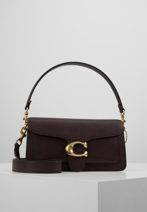 POLISHED TABBY SHOULDER BAG - Handbag - oxblood