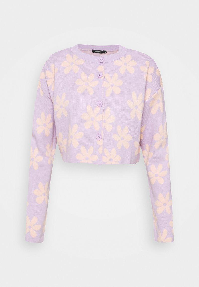 Trendyol - TWOAW - Cardigan - lilac