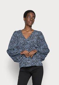 Vero Moda Tall - VMTANIA TALL - Long sleeved top - black - 0