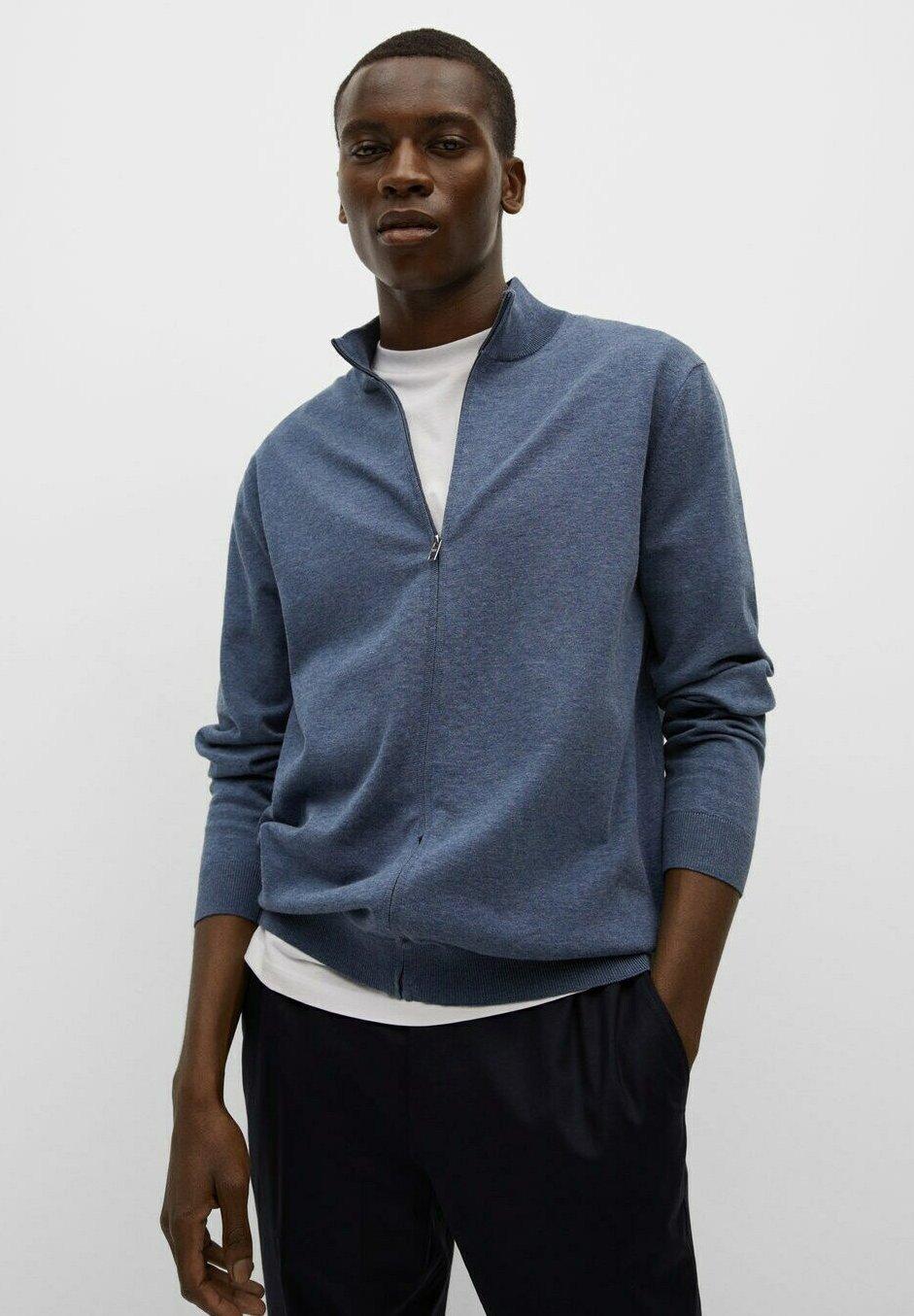 Men MIT ZIPPER - Zip-up sweatshirt