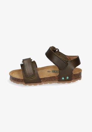 BAS BEACH - Sandals - green