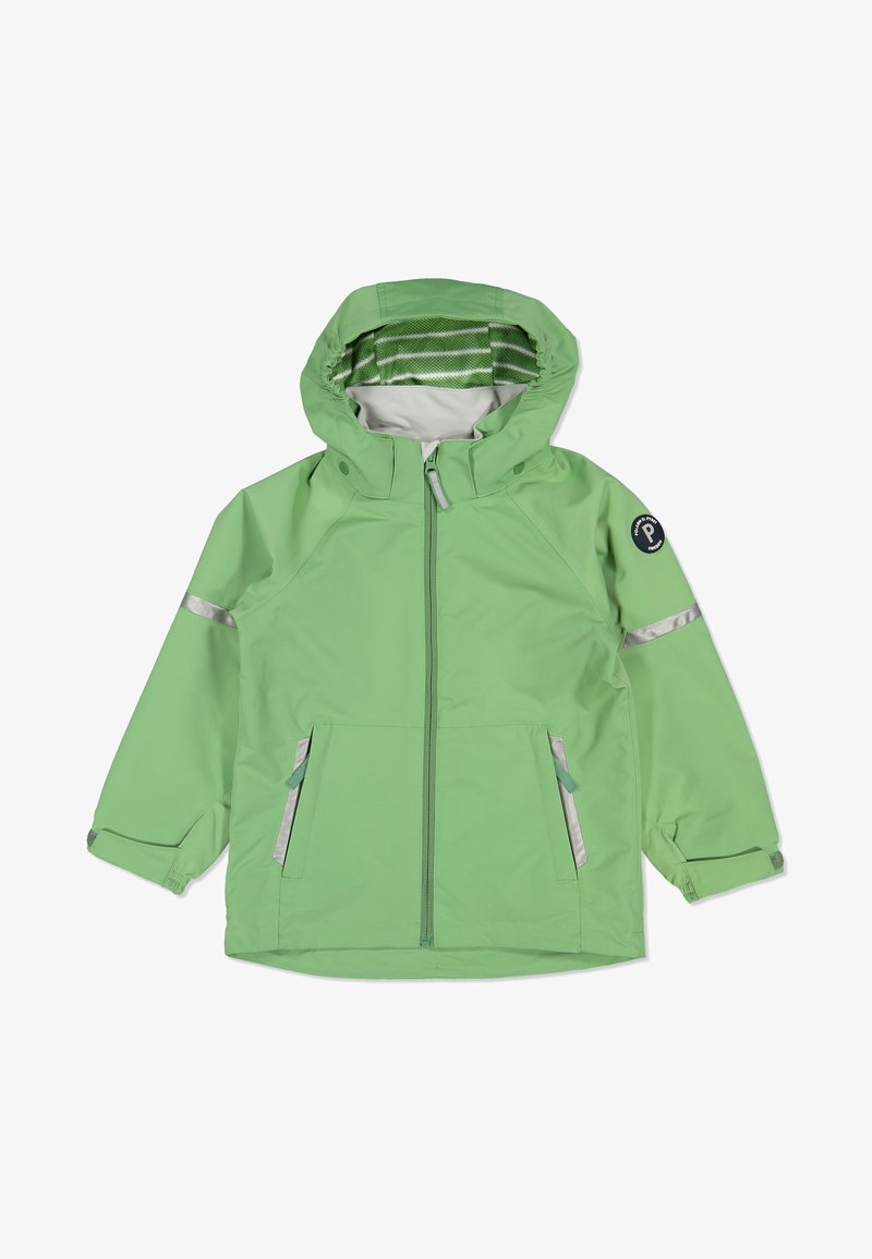 Polarn O. Pyret - Waterproof jacket - green