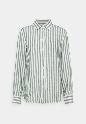 GUINEA - Button-down blouse - gruen