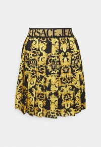 Versace Jeans Couture - LADY SKIRT - Pleated skirt - black - 5