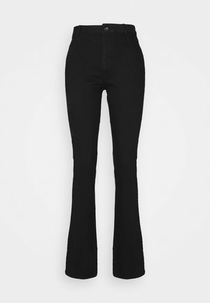 ELLIS - Flared jeans - black