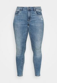 ONLY Carmakoma - CARSALLY LIFE - Jeans Skinny Fit - light blue - 4