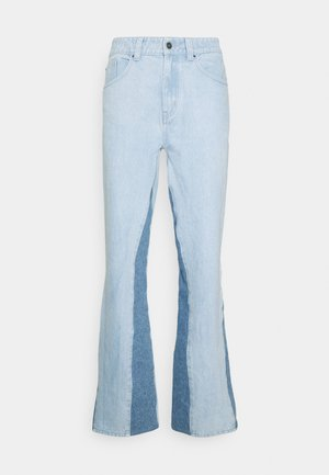 PANELLED TROUSER - Džíny Relaxed Fit - blue
