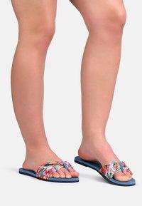 Havaianas - TROPEZ - T-bar sandals - blue - 0
