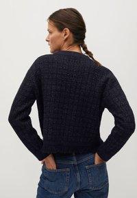 Mango - CHABELI - Pullover - dunkles marineblau - 2