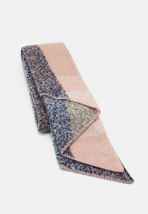 PCPYRON CHECKED LONG SCARF - Sjaal - misty rose
