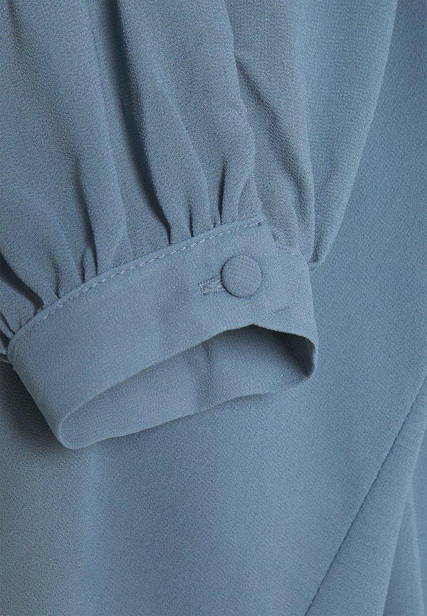 Object OBJMILA - Bluzka z długim rękawem - blue mirage/niebieski XAZX