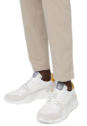 BULKY - Trainers - offwhite/curry