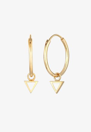 CREOLEN DREIECK - Earrings - gold