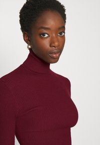 Missguided - ROLL NECK  - Trui - burgundy - 3