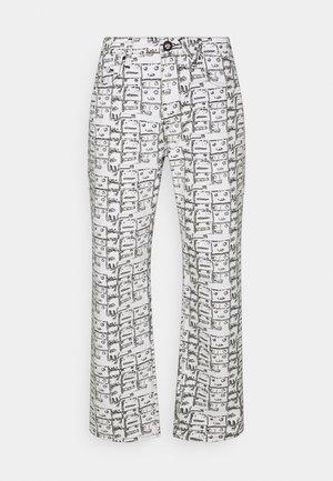 MODOWN - Straight leg jeans - white