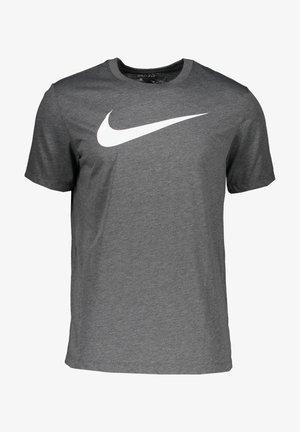 Print T-shirt - grauweiss