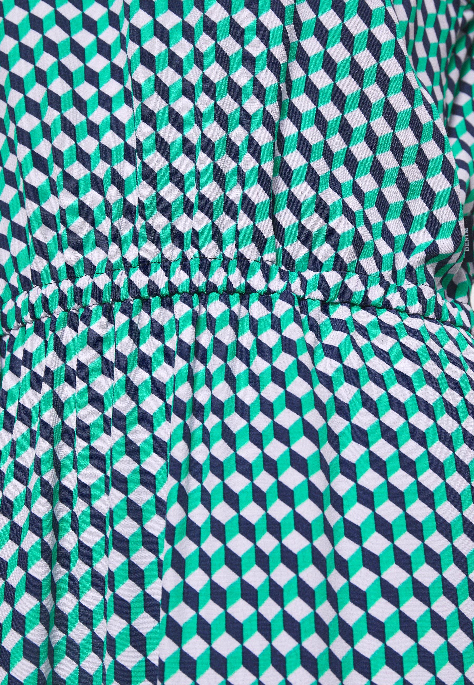 Marc O'Polo DENIM DRESS STRAP DETAIL AT BACK - Robe d'été - multi