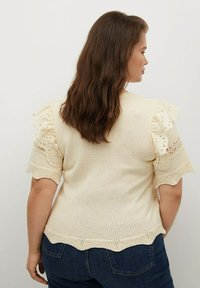Violeta by Mango - Print T-shirt - ecru - 2