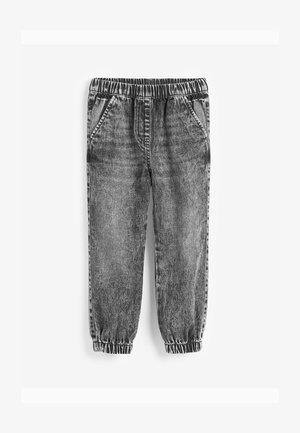 Jeans baggy - grey denim