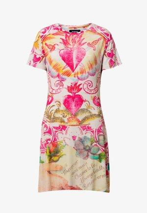 TATTO - Denní šaty - white