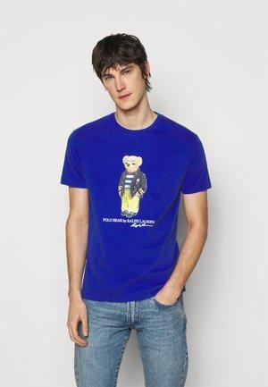 T-Shirt print - sapphire star