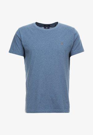 THE ORIGINAL - Basic T-shirt - denim blue mel