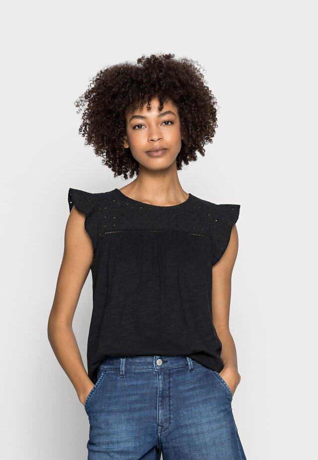MIX - Camiseta estampada - black
