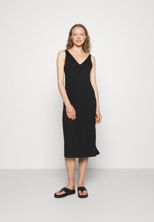 DRESS YAEL - Jerseyjurk - black