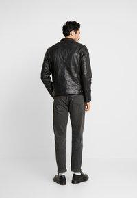 Freaky Nation - BLUERACY - Leather jacket - black - 2