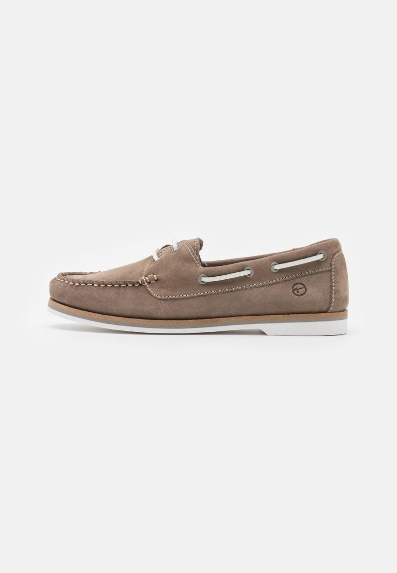 Tamaris - Boat shoes - smoke