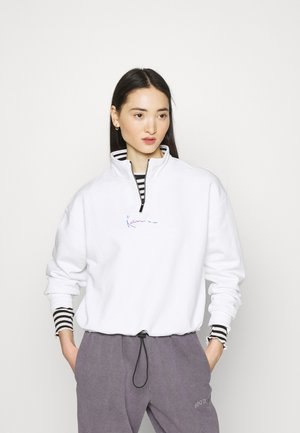 SMALL SIGNATURE  - Sweatshirt - white