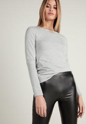 T-shirt à manches longues - grigio melange chiar