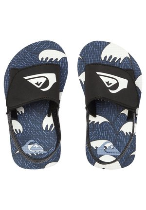 MOLOKAI LAYBACK - Badslippers - black/blue/white