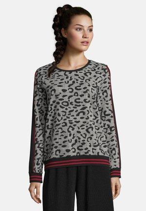 MIT STRUKTUR - Sweatshirt - black/white