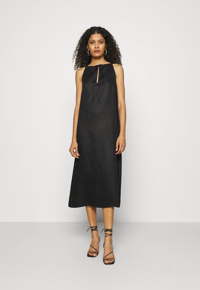 CALONIE - Korte jurk - black