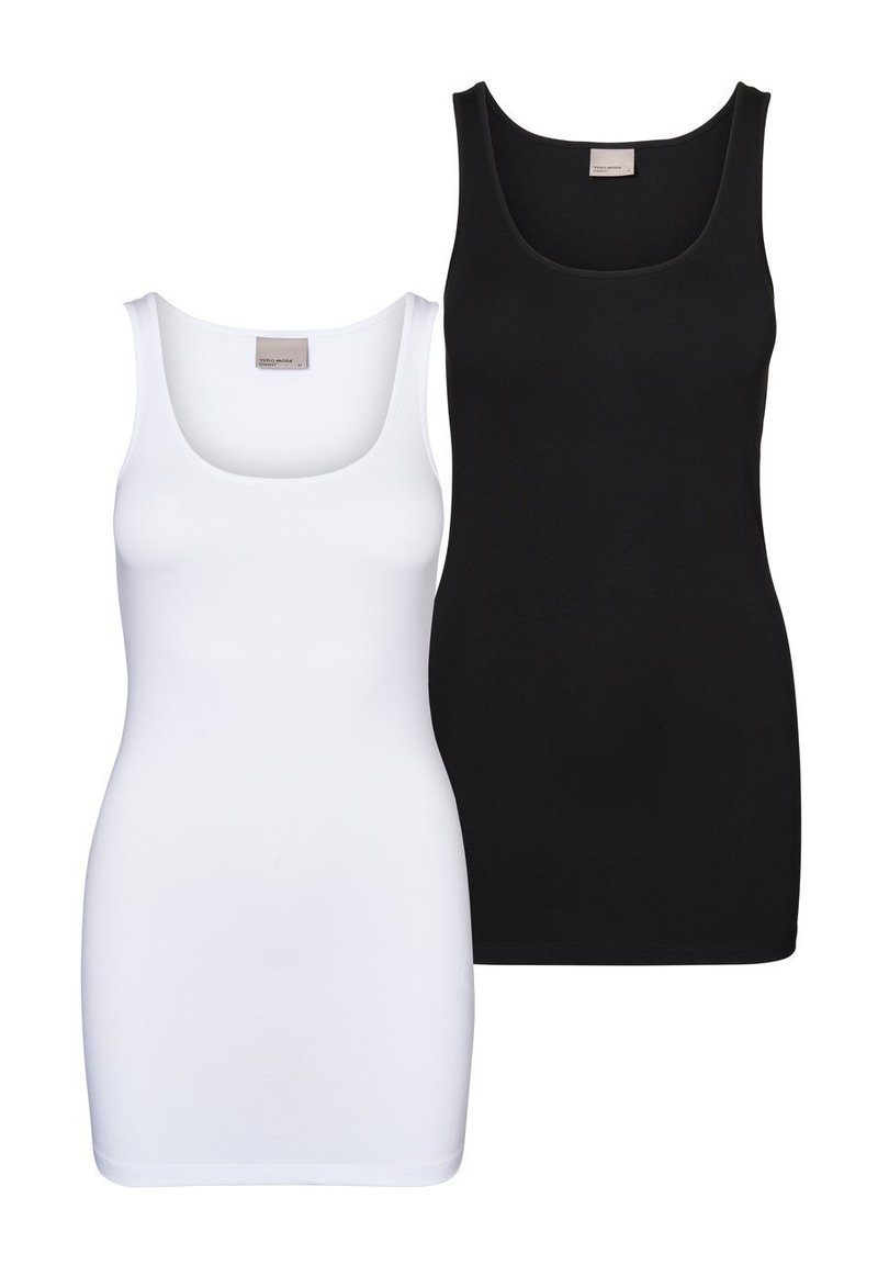 Vero Moda - 2 PACK - Top - bright white 2