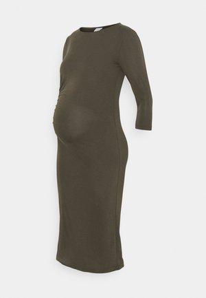 MLARIELLA DRESS - Žerzejové šaty - grape leaf