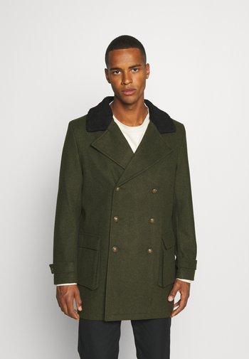 MILITARY JACKET - Klasický kabát - khaki