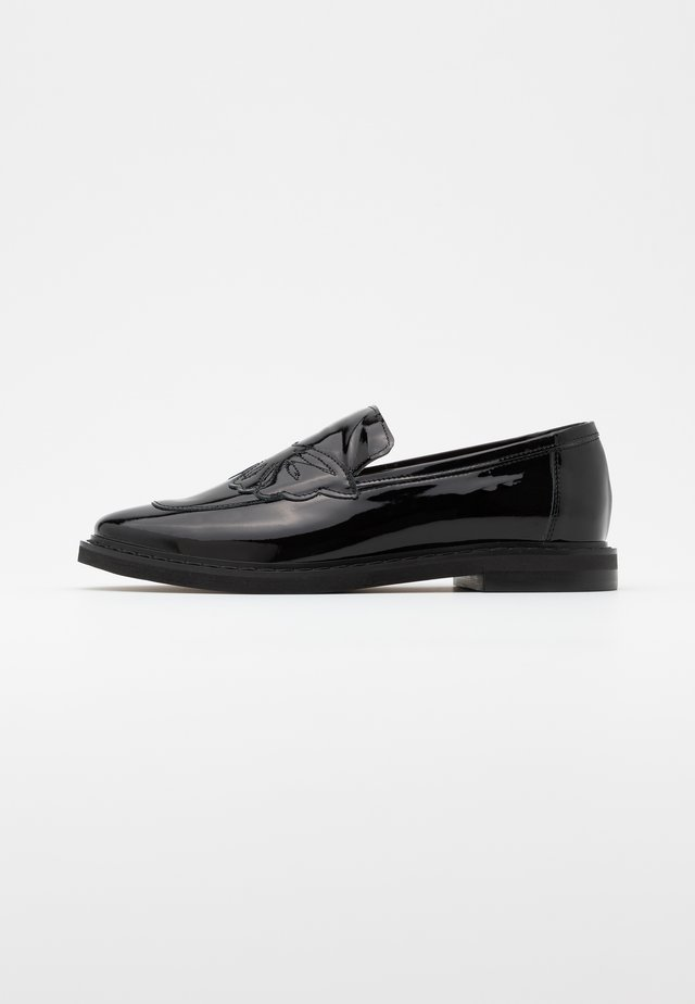 COOL ENOUGH - Slip-ons - black
