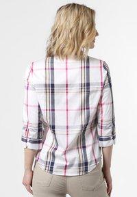 Franco Callegari - Button-down blouse - weiß marine - 1