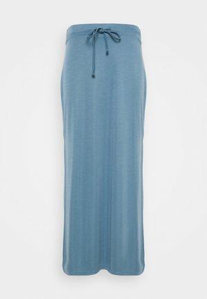 FLORRIE - Maxi skirt - stellar blue