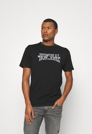 NEW YORK TEE - T-shirt con stampa - black