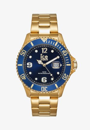 Watch - gold-colured/blue