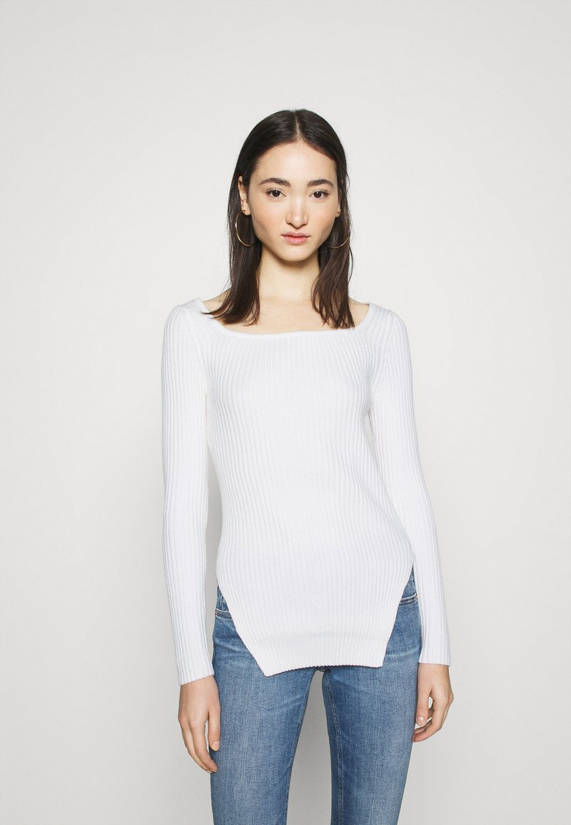 NA-KD - CUT OUT - Jumper - off white
